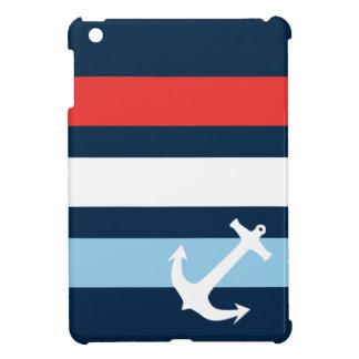 Azules marinos náuticos del ancla de mar de las ra