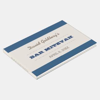 Azules marinos y libro de visitas de Mitzvah de la