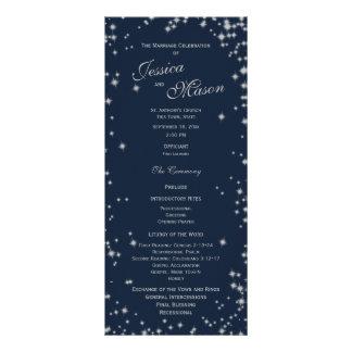 Azules marinos y plata de medianoche del centelleo tarjetas publicitarias personalizadas
