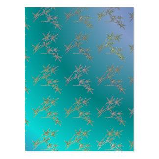 Azules orientales tarjeta postal