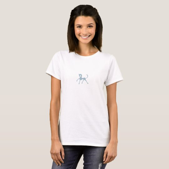 Azules oscuros de Tritty Foxtrotter Camiseta