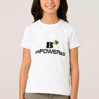 B autorizó la camiseta de los chicas