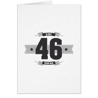 B-día 46 (Dark&Lightgrey) Tarjeta