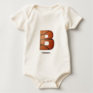 B está para el baloncesto body para bebé