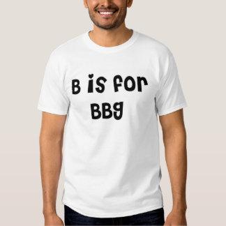 b está para el bbg camisetas