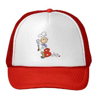B está para el panadero gorras