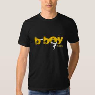b-muchacho para la vida (blanco, amarillo) camisas