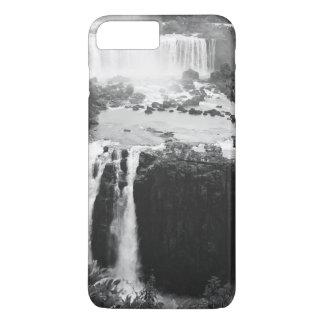 B&W las cataratas del Iguazú Funda iPhone 7 Plus