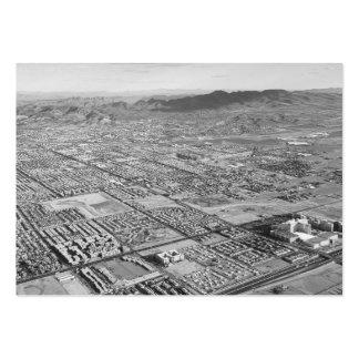 B&W Las Vegas Tarjetas De Visita Grandes