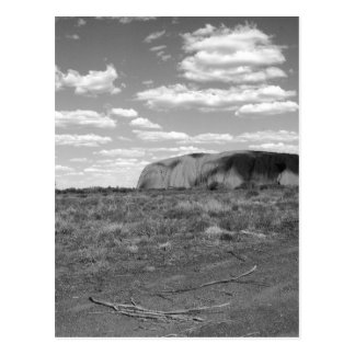 B&W Uluru 2 Postal