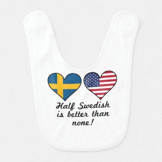 Babero A medias sueco es mejor que ninguno