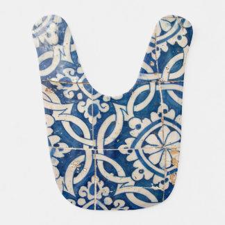 Babero Azulejo del portugués del vintage