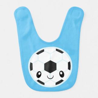 Babero Balón de fútbol Emoji