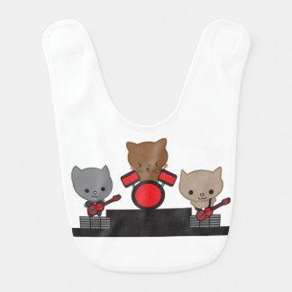 Babero Banda de Kawaii del gato del gatito