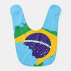Babero Bandera de país brasileña