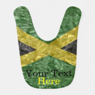 Babero Bandera jamaicana - arrugada