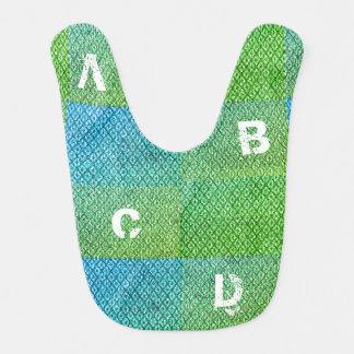 Babero Bebé del alfabeto