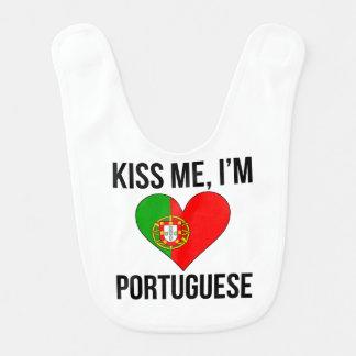 Babero Béseme que soy portugués