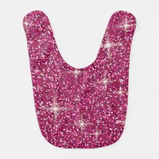 Babero Brillo iridiscente rosado