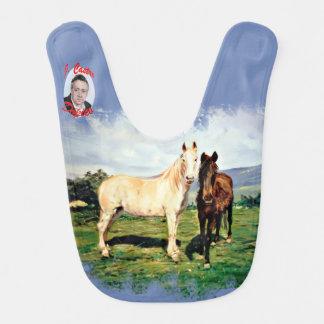 Babero Caballos/Cabalos/Horses
