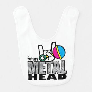 Babero Cabeza futura del metal