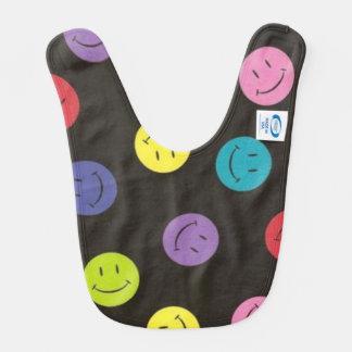 Babero Caras sonrientes - multicoloras