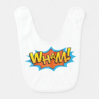 Babero ¡Cómico Wham!