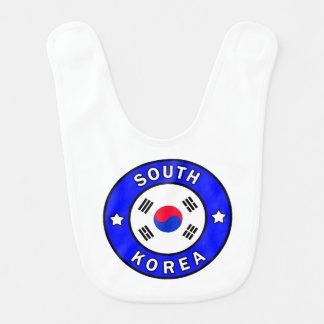 Babero Corea del Sur