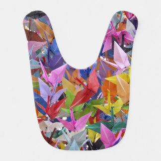 Babero de papel del bebé de 1.000 grúas de Origami