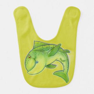 Babero de salto del bebé de los pescados