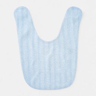 Babero del bebé de azules cielos