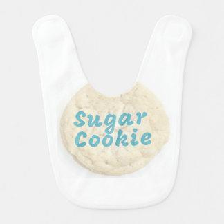 Babero del bebé de la galleta de azúcar