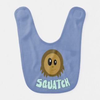 Babero del bebé de Sasquatch