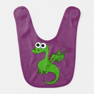 Babero del bebé del dragón del bebé
