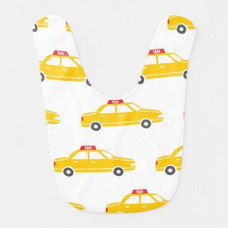 Babero del bebé del taxi de la ciudad