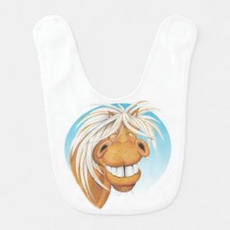 Babero del compañero del caballo de Equi-toons
