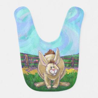 Babero Desfile lindo del animal del conejo