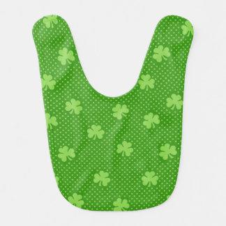 Babero Día verde de Patricks del santo del modelo del