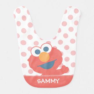 Babero El bebé Elmo el   añade su nombre