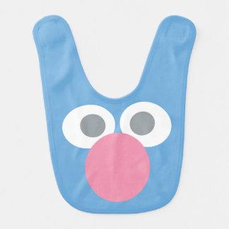 Babero El bebé Grover hace frente al modelo de la forma