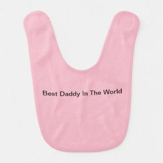 Babero El mejor papá en el mundo