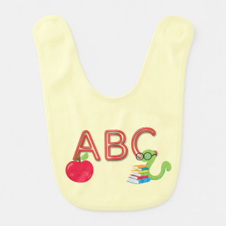 Babero El neón de ABC pone letras al ratón de biblioteca