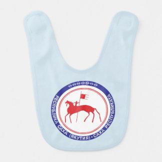 Babero Escudo de armas de Sakha