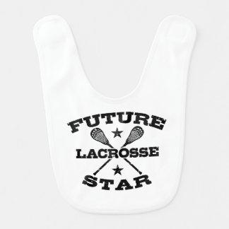 Babero Estrella futura de LaCrosse