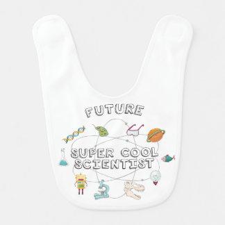 Babero fresco estupendo futuro del científico