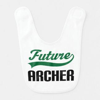 Babero futuro del bebé de Archer