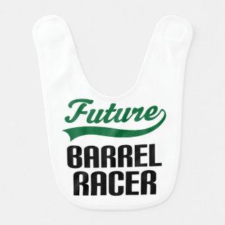 Babero futuro del bebé del corredor del barril