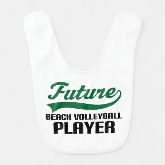 Babero futuro del bebé del jugador de voleibol de