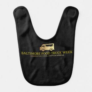 Babero Grifo de la semana del camión de la comida de