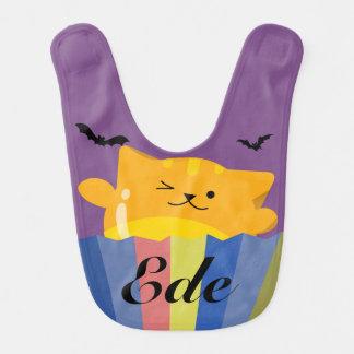 Babero Halloween adaptable - amigos lindos de Mochi